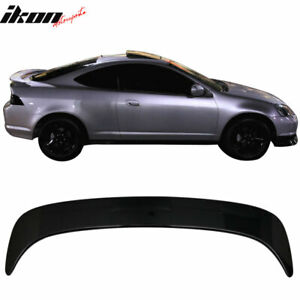 Fits 02 06 Rsx Dc5 Oe Style Trunk Spoiler Painted b92p Nighthawk Black Pearl