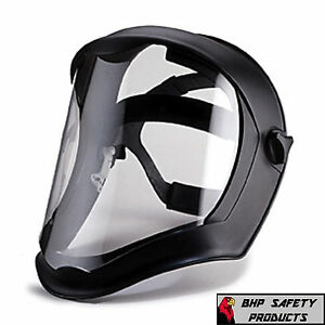 Uvex S8500 Bionic Dielectric Safety Face Shield Clear Z87 1 Grinding Sanding
