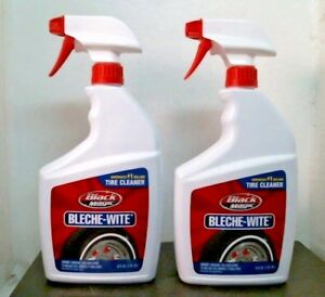 Black Magic 800002224 Bleche Wite Tire Cleaner 32 Oz Lot Of 2 Free Ship