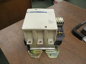 Telemecanique Contactor Lc1f400 420a 600v 300v Coil Used