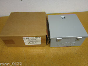 Hubbell A080804ww Grainger 4kn72 Electrical Box Enclosure New