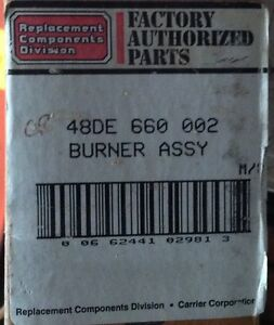 discount Hvac Cp 48de660002 Carrier Burner Assembly Package For Package Unit