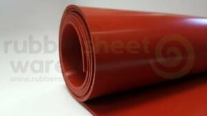 Silicone Rubber Sheet High Temp 1 16 Thick X 18 Wide X 36 Long Free Shipping