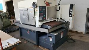 Timesaver Pfa 360 37 3 head Finishing Machine 36 X 187 Belt New 2012