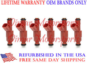 Lifetime Warranty Flow Matched Genuine Bosch 12 Hole Fuel Injector Set Upgrade