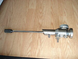 High Vacuum Research Chamber Adjust Valve