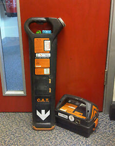 Radiodetection Cat Mk2 Genny Cable Locator Calibrated Good Condition