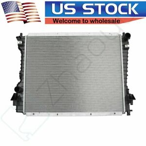 Aluminum Radiator For 05 14 Ford Mustang 3 7l 4 0l 4 6l 5 0l V6 V8 Fits Cu2789