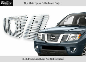 For 2005 2007 Nissan Pathfinder frontier Stainless Steel Billet Grille
