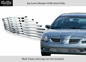 For 2004 2006 Mitsubishi Galant Ralliart Stainless Steel Bumper Billet Grille
