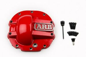 Arb Rear Ford 8 8 Red Differential Cover Thick Cast Nodular Iron Magnetic Drain