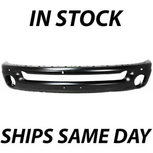 New Primered Front Bumper Face Bar For 2002 2009 Dodge Ram Pickup 1500 2500 3500