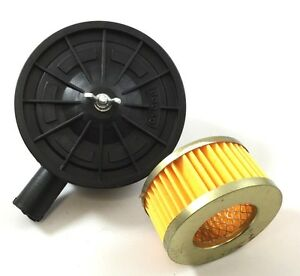 1 2 Male Pipe Thread Air Compressor Pump Intake Filter With Filter Element