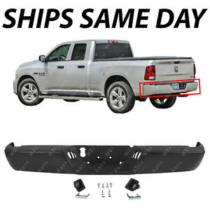 New Primered Rear Steel Step Bumper Assembly For 2009 2016 Dodge Ram 1500 09 16
