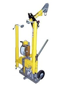 Miller Dh 18 Equipment Cart For Four piece Hoist System