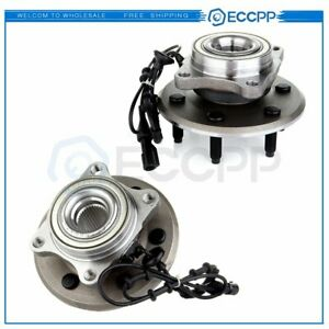 2 Pcs Rear Wheel Hub Bearing Assembly For Ford Expedition Navigator 2wd And 4wd