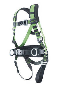 Miller R10cn mb Construction Harness With Mating Buckle Legs