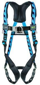 Miller Acf tb Aircore Blue Harness With Tongue Buckle Leg