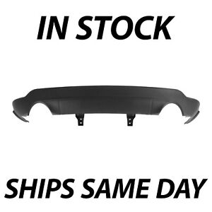 New Textured Lower Rear Bumper For 2011 2015 Jeep Grand Cherokee W Dual Exhaust