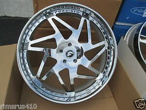 28 Forgiato Finestro 3 piece Wheels 5x139 7 Ram 1500