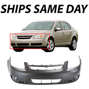 Primered Front Bumper Cover Replacement For 2005 2006 2007 Chevy Cobalt Lt
