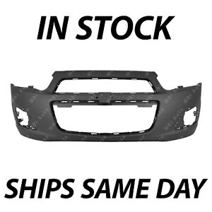 New Primered Front Bumper Cover Replacement For 2012 2016 Chevy Chevrolet Sonic
