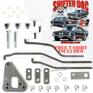 Hurst 3735587 Mustang Shelby 1967 1968 1969 Install Kit 433 T C Top Loader 390