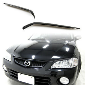For Mazda 323 Protege Eyelids Eyebrows 1998 2001 Paintable