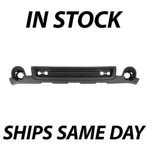New Black Front Lower Air Deflector Valance For 2007 2010 Sierra 2500 3500 Hd