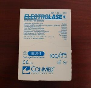 Conmed Electrolase Disposable Hyfrecator Tips 7 101 12bx New sealed 100 bx