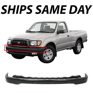 New Primered Front Bumper Steel Face Bar For 2001 2002 2003 2004 Toyota Tacoma