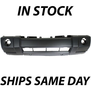 New Primered Front Bumper Cover For 2006 2010 Jeep Commander 5183619aa 06 10