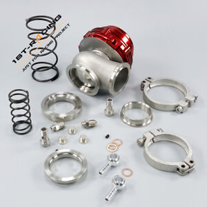 44mm V band External Wastegate Red Mv r 44 Water air Cooled 14psi Installed
