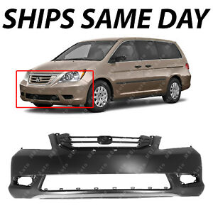 New Primered Front Bumper Cover For 2008 2009 2010 Honda Odyssey Van 08 10