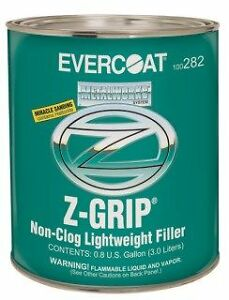 Evercoat Z grip Lite Weight Body Filler dent auto Paint 8 Gallon