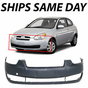 New Primered Front Bumper Cover Replacement For 2006 2010 Hyundai Accent