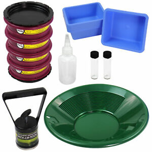 Gold Cube Gold Panning Fine Gold Super Concentrates Clean up Kit