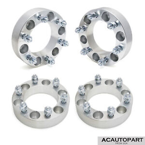 4x Wheel Spacers Adapters 1 5 6x5 5 Fit Tacoma 4runner Only 6 Lugs