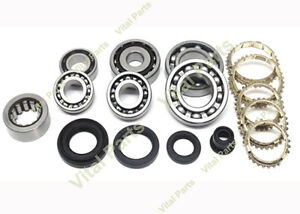 Honda Civic Crx Si 5 Spd Transmission Rebuild Kit L3 1600cc 1988 1991 Ef