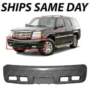 New Primered Front Bumper Cover Fascia For 2002 2006 Cadillac Escalade 02 06