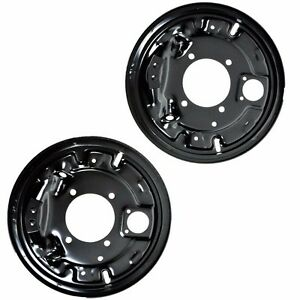 Rear Brake Backing Plates For Chevy C K Pickup Suburban Ford Van