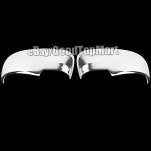 For Toyota Prius V 2010 2011 2012 2013 2014 2015 Chrome 2 Mirror Covers Pair