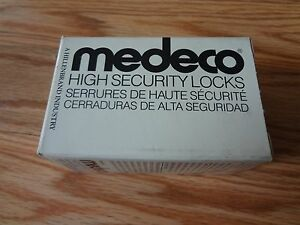 Medeco 32 5575 Mortise Cylinder Housing High Security Locks Satin Bronze 6 Pin