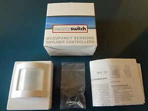 Brand New Sensor Switch Wv16 Occ Sensor Pir Corner Mount 120 277v