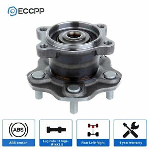 Rear Wheel Hub Bearing Assembly Fits Nissan Altima 02 06 Quest 04 09