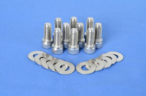 Stainless Steel Differential Cover Bolts Dress Up Dana 30 35 44 Diff Covers