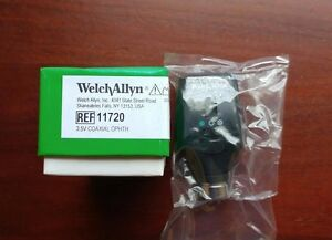 Welch Allyn Halogen Coaxial Ophthalmoscope 3 5v Head Only 11720 New In Box