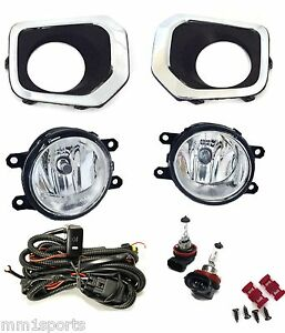 2016 2017 2018 Tacoma Fog Light Driving Lamps Kit Oe Specs Bezels Harness Bulbs