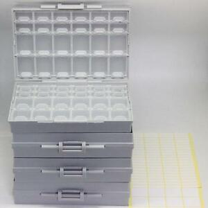 4 Of Aidetek Box all 48 Enclosure Box Smd Smt 0805 0603 0402 Components Storage