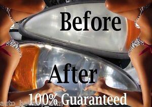 Headlight Lens Cleaner And Restoration Kit Cadillac Gm Buick Oldsmobile